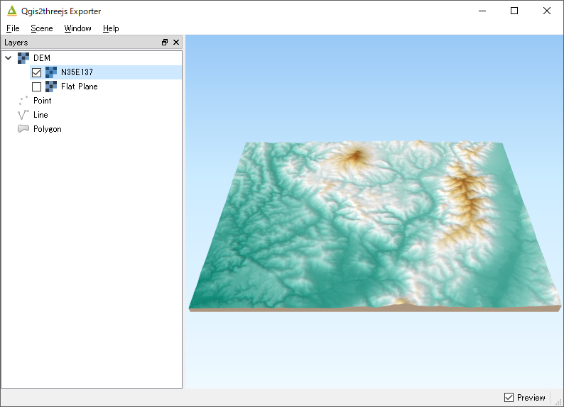 Tutorial — Qgis2threejs plugin 2 3 documentation